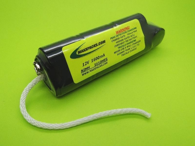 1600 BATTERY & PEAK CHARGER FOR MINELAB EXCALBUR II PODS / MADE IN USA