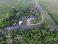 Farm Yard Drone Pictures 4k