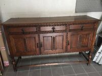 Solid Yorkshire Oak dining Serving board/buffet