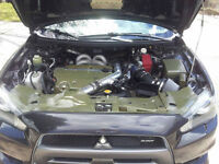 2009 Mitsubishi Lancer Evolution MR  500whp Big Turbo LOW KM