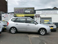 2007 KIA CARENS 2.0 CRDi 7 SEATER ( AA )12 MONTH BREAKDOWN COVER INCLUDED