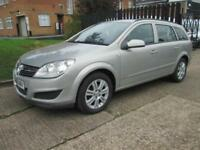 2008 08 VAUXHALL ASTRA 1.6 CLUB 5D 115 BHP. ESTATE. PETROL. 1 YEAR WARRANTY.