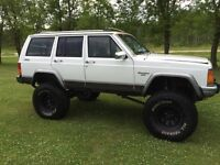 "1991 jeep Cherokee 8 1/2"" lift"