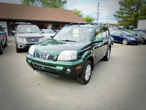 2006 Nissan X-Trail, SE. MOONROOF,*AWD* 12/M WARRANTY INCLUDED*