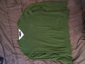 Green long-sleeve Tommy Hilfiger