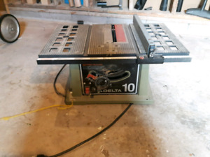 Table saw - Dropped Price