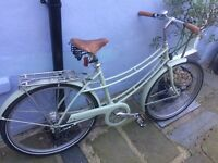 Pashley 'penny' women's bike in pale green