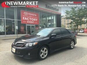 2013 Toyota Corolla S  - trade-in - $42.55 /Week