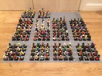 Huge collection of new Lego Minifigures sets. Series 5-15, Team GB Olympics, Lego Movie, Simpsons