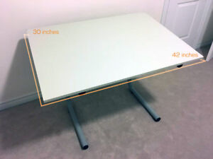 "Artists Adjustable Drafting Table 42"" x 30"""