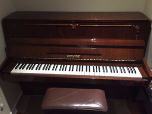 Used and fully functional Upright Piano