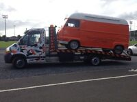 RECOVERY DELIVERY COLLECTION BREAKDOWN LOCAL NATIONAL 24/7 SCRAP VEHICLE UPLIFT PRICES FROM £30