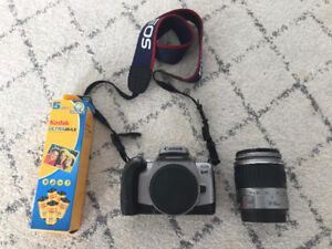 Must Go: Canon Rebel T2 35mm SLR Camera with the EF 28-90mm lens