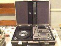 Vintage portable music centre