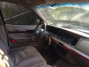 Parting out grand marquis
