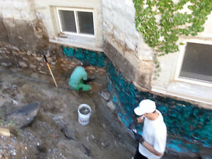 A1 WATERPROOFING. ELIMINATING WATER FROM YOUR HOME London Ontario image 2