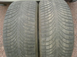 Michelin Winter Tires - Latitude Alpine