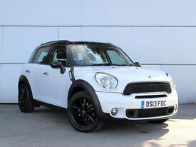 2013 MINI COUNTRYMAN 2.0 Cooper S D 1 Owner Parksensor Low Miles Aircon