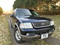 FORD EXPLORER EDDIE BAUR 4.6 V8 RIGHT HAND DRIVE 7 SEATER PX SWAP