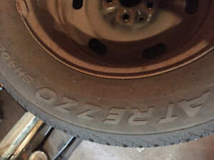 Winter tires with Rims..