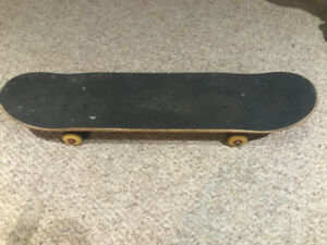 Skateboard - Tensor mid trucks, ONDECK deck, Bones Red bearings