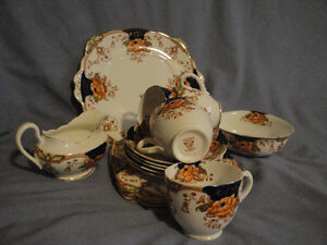 vintage Superior China lunch set