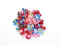 DELUXE ASSORTED PET BOWS SMALL PETS BOUCLES DE LUXES NEUF NEW