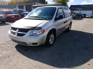 2005 DODGE CARAVAN   SAFETY AND E TESTED