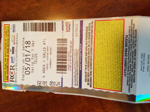 For sale: one full day ski pass RCR -   Fernie  Kimberly etc.