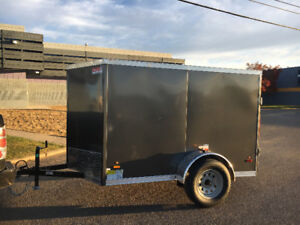 Gray Buy Or Sell Used Or New Cargo Trailers In Saskatchewan