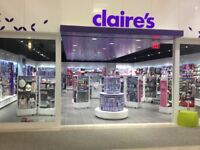Store Manager - Claires Downtown