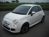 2013 FIAT 500 1.2 S *LOW MILEAGE* NEW CAM BELT KIT *SPORTY MODEL*