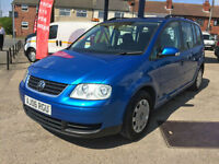 2006 Volkswagen Touran 1.6 ( 7st ) S 120,000 MILES, HPI CLEAR