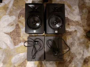 """JBL LSR305 5"""" Monitors (matched pair)"""