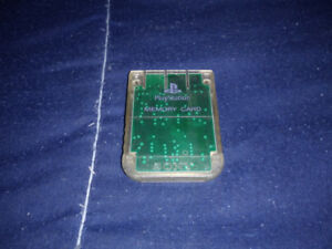 Playstation 1 Memory card (transparente)