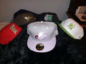 New Era 59FIFTY FLAT BRIM (X5)