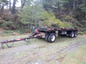 Comercial quad trailer