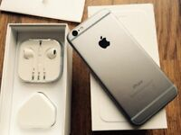 Apple iPhone 6 Space Grey 64GB in great condition on O2 or GiffGaff network