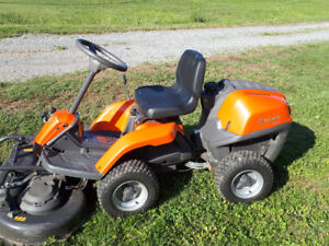 Husqvarna R120S ride on lawn mower for sale