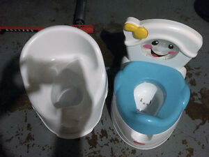 Free Potties-one makes sounds and lights up when they go!