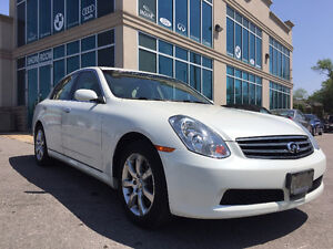2006 Infiniti G35! Very Well Maintained! Low KM!