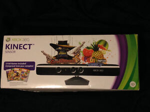 New Xbox 360 Kinect (with 3 games included) Kitchener / Waterloo Kitchener Area image 1