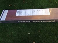 Cognac solid oak flooring - 11 packs 1.1M2 £120
