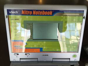 VTECH Blue Nitro Notebook Kids Educational Laptop with Mouse Cambridge Kitchener Area image 3