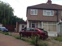 3 Bed extended semi To Let.