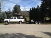 Truck & Trailer for hire.