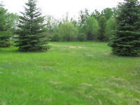 Acreage lot in the RM of Paddockwood
