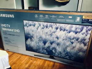 "Samsung 55"" UHD TV 6 Series MU6300 - Unopened"
