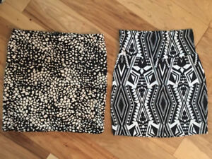 Two small high waisted skirts