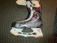 Bauer APX2 Patins Skates 8D xtra lames et TUUK holder